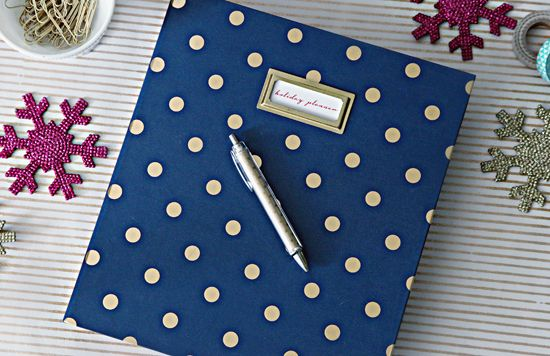 IHeart Organizing: Holiday Planning Binder