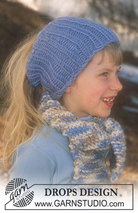 Free Pattern | Bufandas niñas/niños | Pinterest | Tejido y Bebe