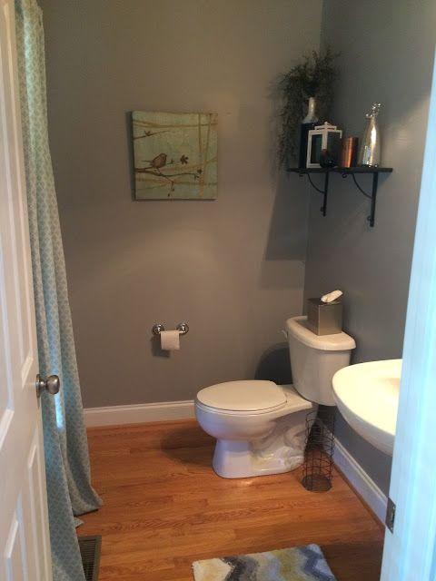 Flannel Gray Behr Paint Color Grey Bathroom Paint