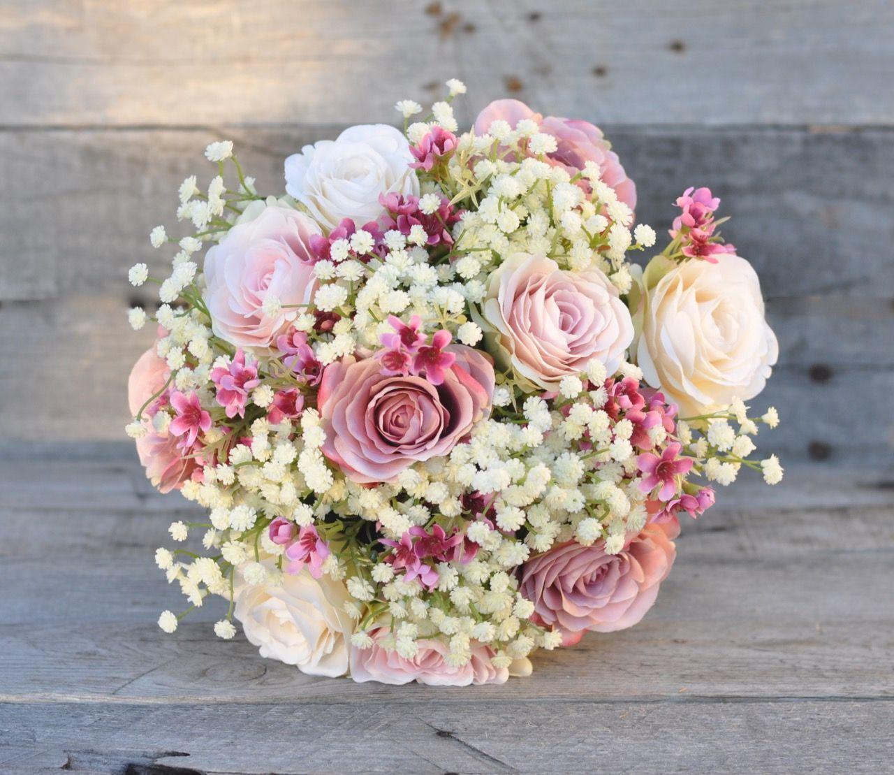 Keepsake faux flower bouquet shipping worldwide from Holly\'s Flower ...