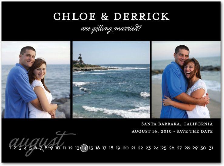 save date cards calendar wedding paper divas beach Idea