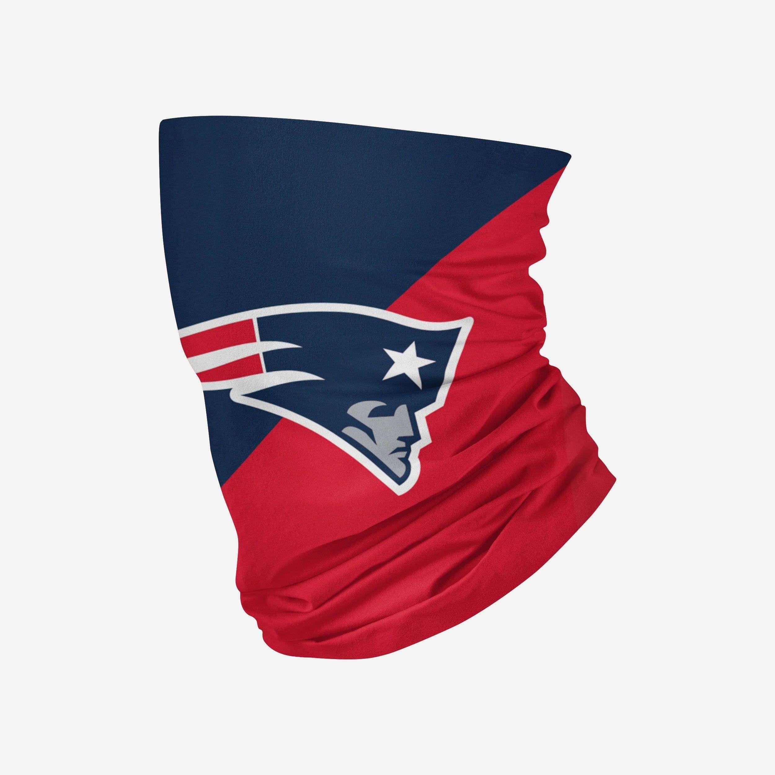 New England Patriots Big Logo Gaiter Scarf