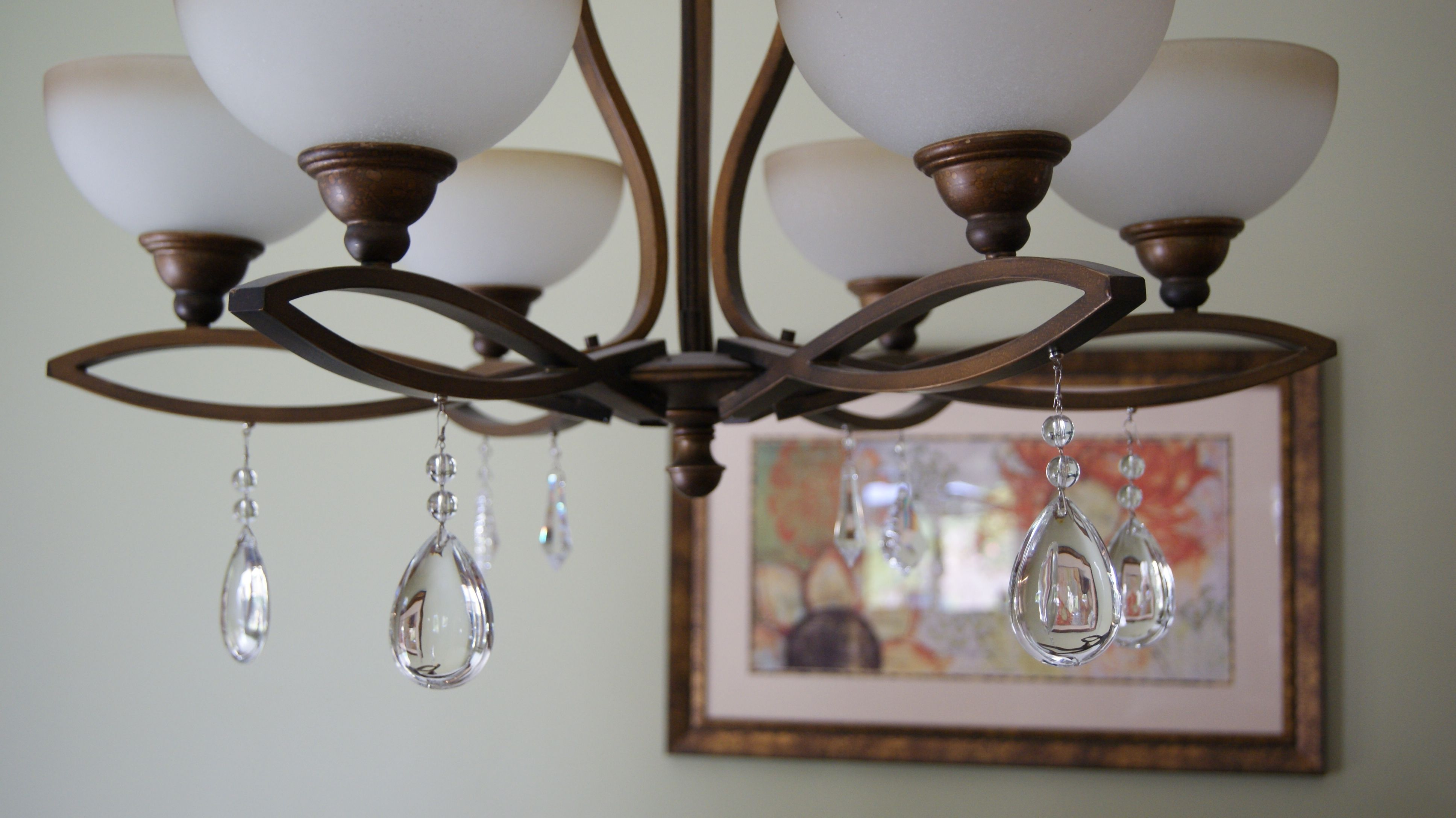Chandelier with magnetic crystal light charms chandeliers chandelier with magnetic crystal light charms aloadofball Choice Image