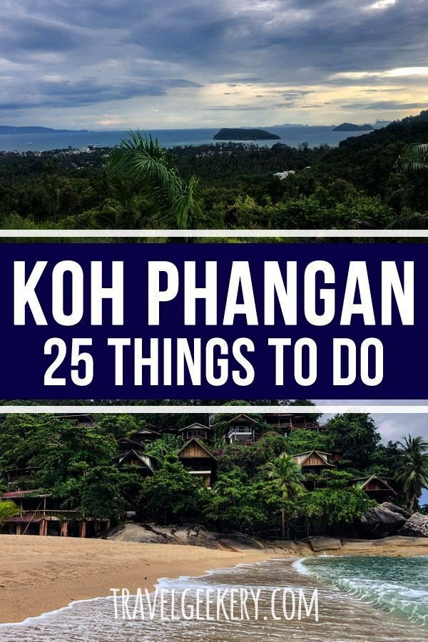 to Do in Koh Phangan Thailand Koh Phangan things to do - check out this ultimate list of 25+ things