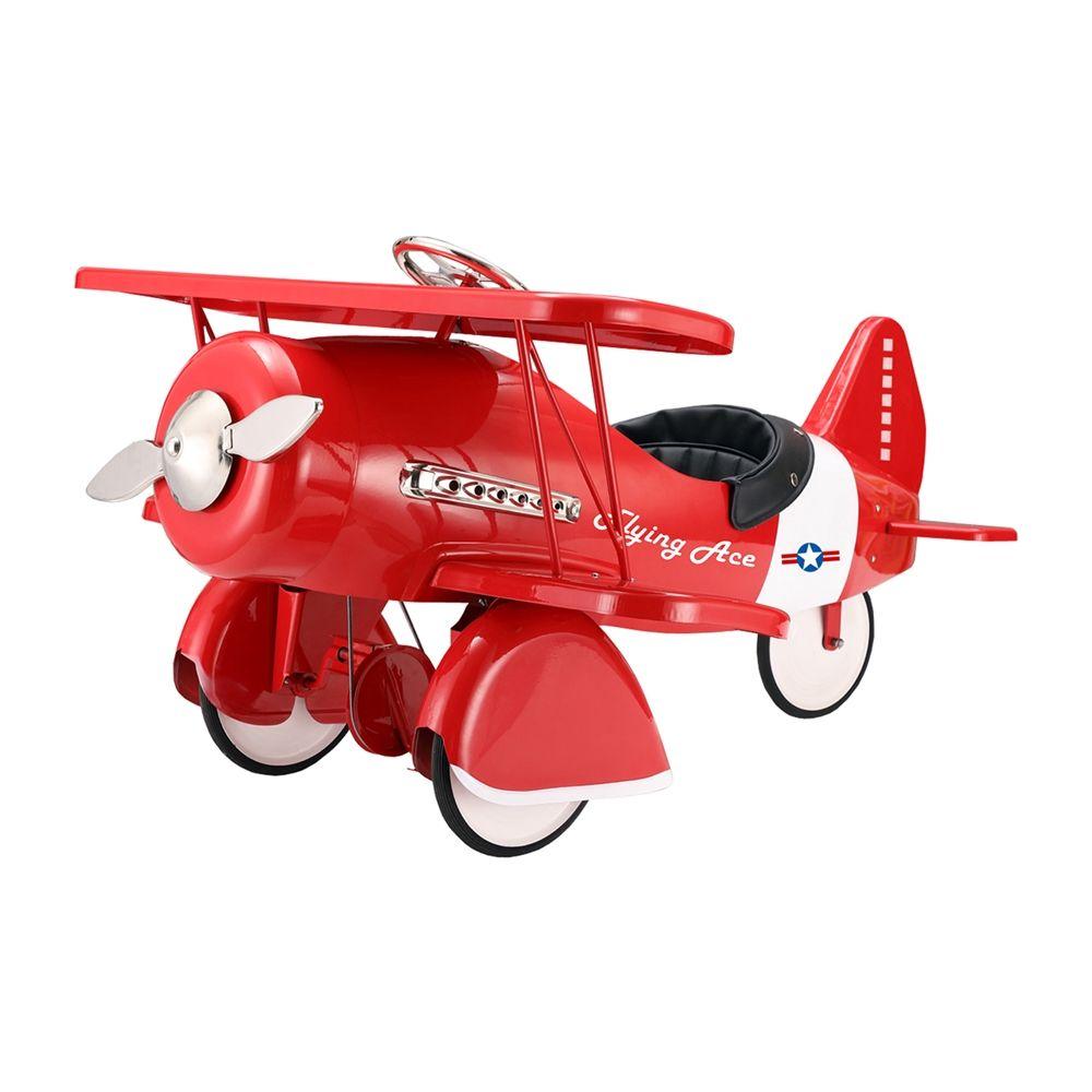 shop dexton vintage red pedal plane at the mine browse our ride  - shop dexton vintage red pedal plane at the mine browse our rideon toys