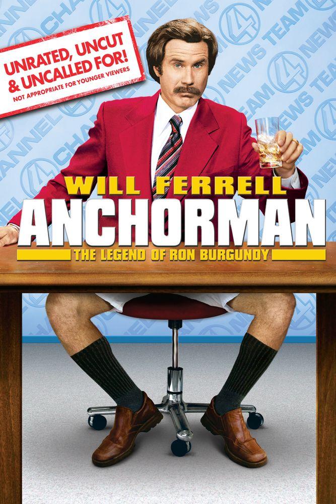 Anchorman 2 Repro Film POSTER