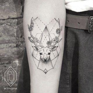 Tattoo-Trends 2018: Tiermotive