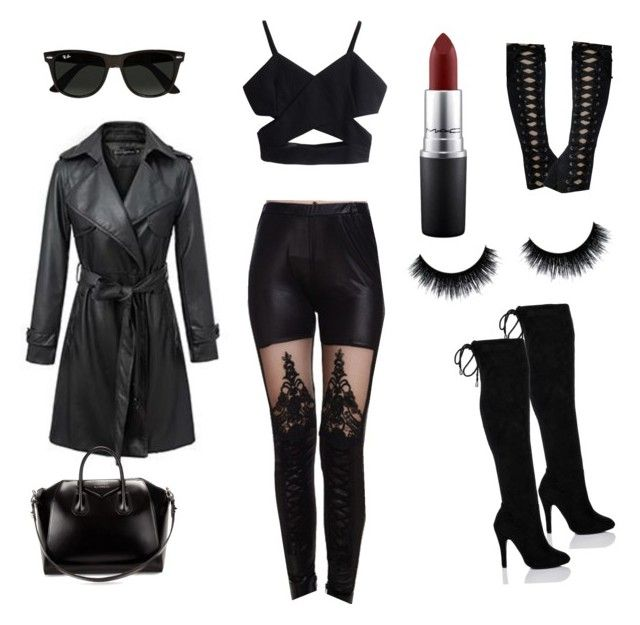 Modern V&ire  by scifantasygeek on Polyvore featuring Neeya Ray-Ban Givenchy  sc 1 st  Pinterest & Modern Vampire | Pinterest | Modern vampires Givenchy and Macs