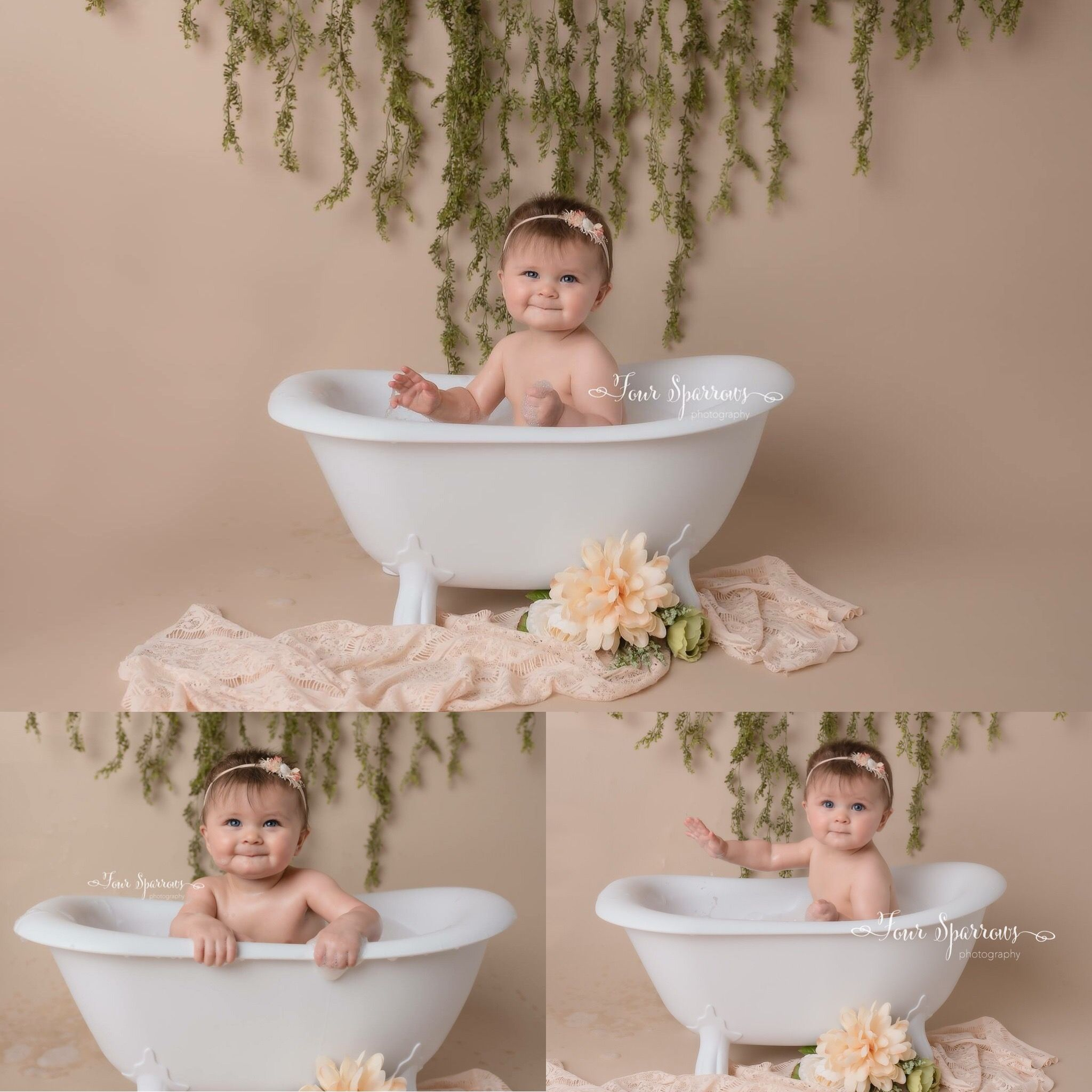 Gatsby Clawfoot Bath Tub With Images Baby Bath Tub Milk Bath