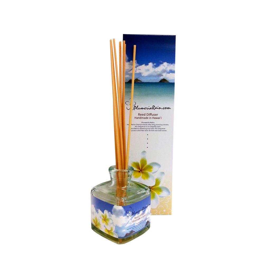 plumeria rain reed diffuser
