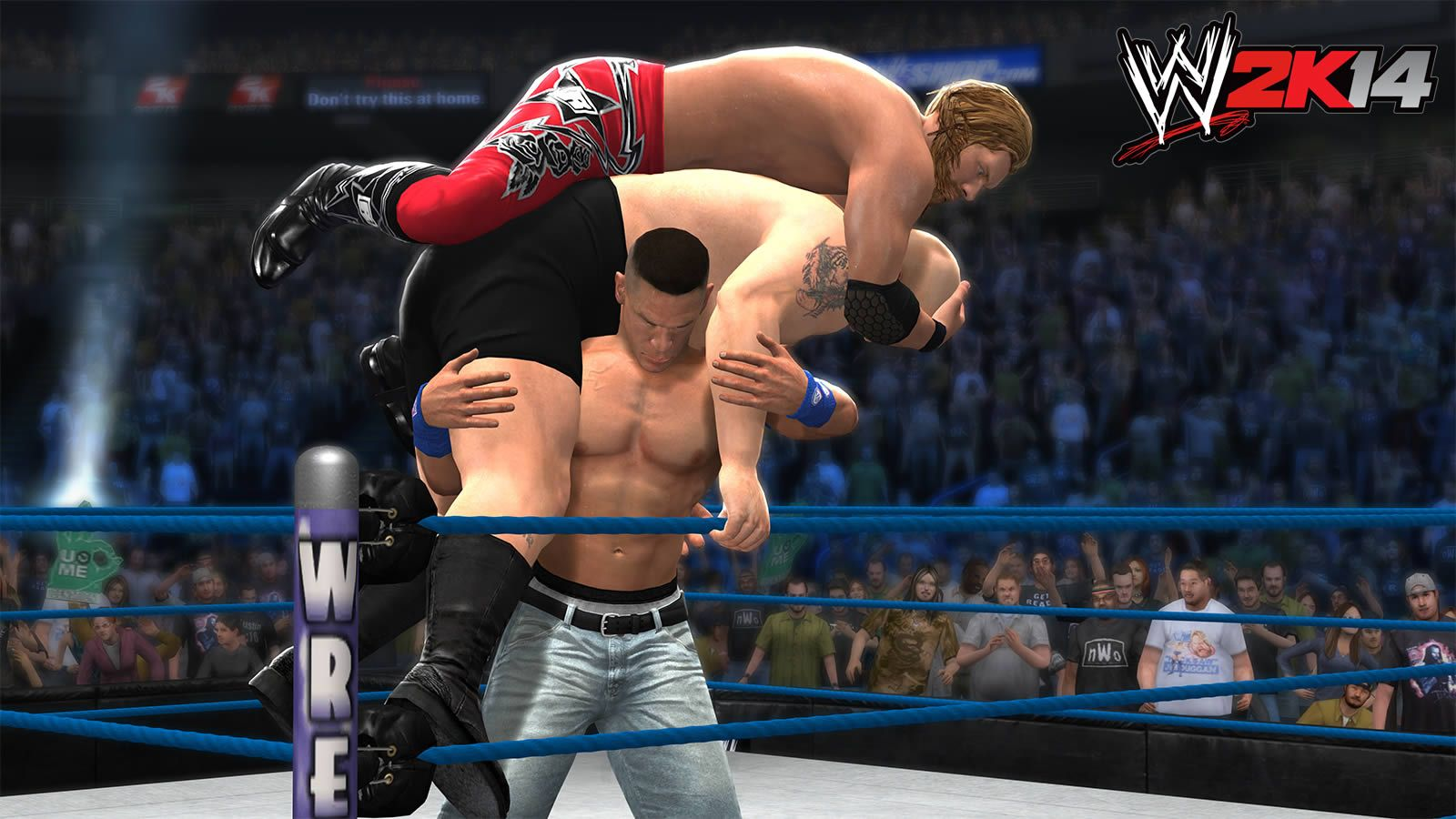 wrestlemania xxv: world heavyweight champion edge vs. john cena vs