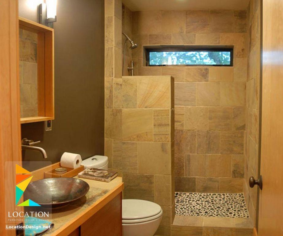 ديكورات حمامات صغيرة المساحة 50 تصميم حمامات مودرن بأفكار رائعة جدا Inexpensive Bathroom Remodel Bathroom Design Small Simple Bathroom Remodel