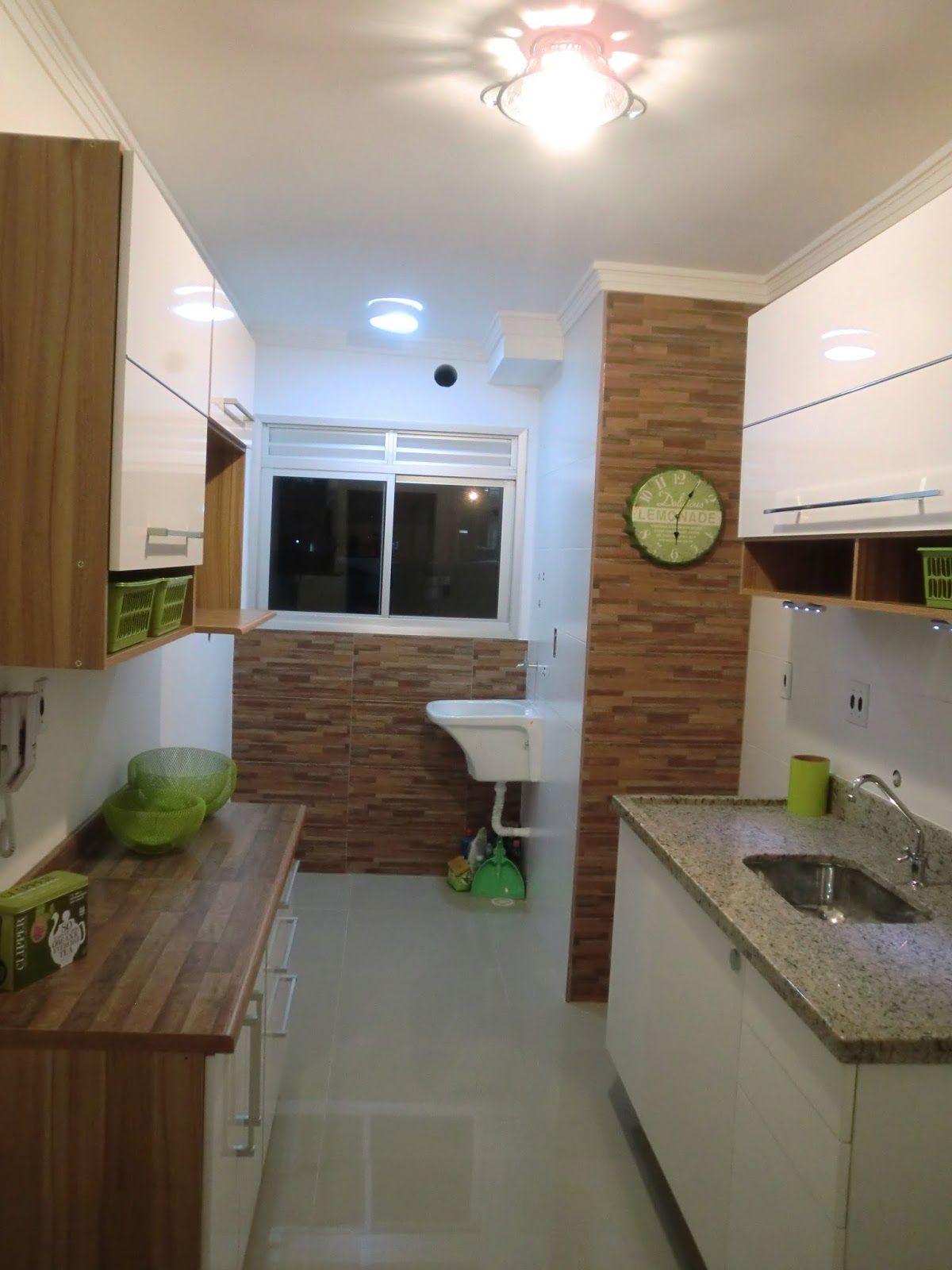 Reforma Do Apartamento Antes E Depois Da Cozinha Do Apartamento