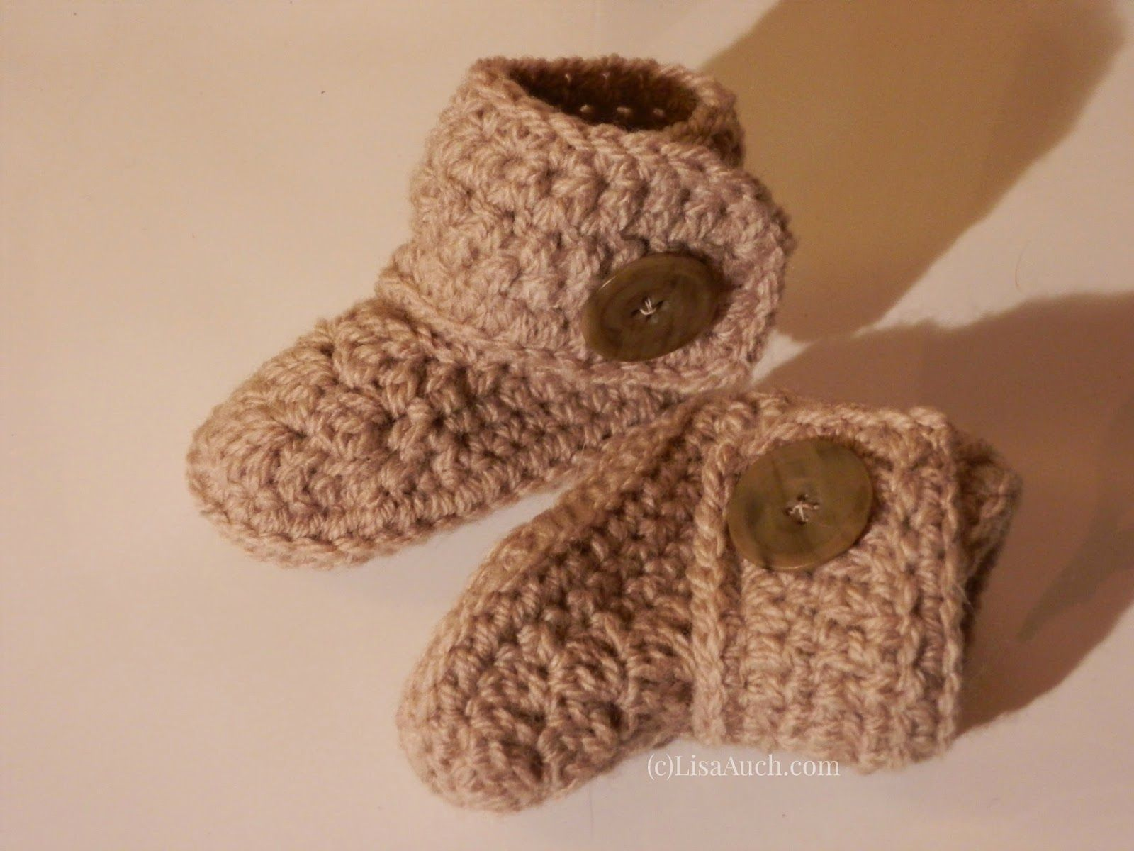 FREE Crochet Patterns for Baby Booties 20 Baby Bootie Crochet