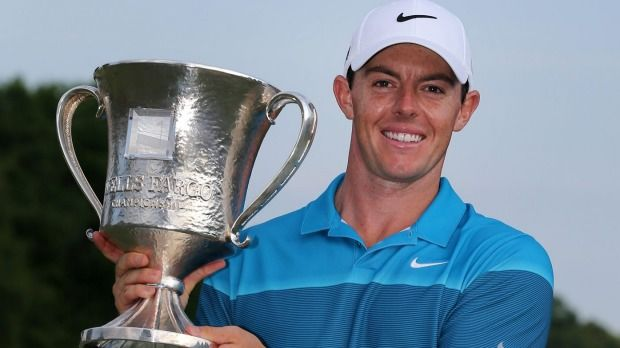 Rory McIlroy won the 2015 Wells Fargo Championship by seven strokes #golf #golfers #RoryMcIlroy | Rock Bottom Golf #rockbottomgolf