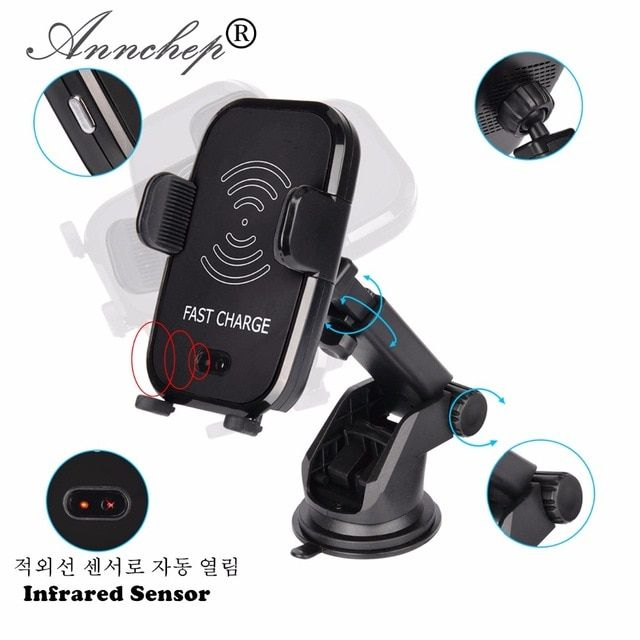 Automatic Infrared Senser Mobile Phone Qi Fast Car