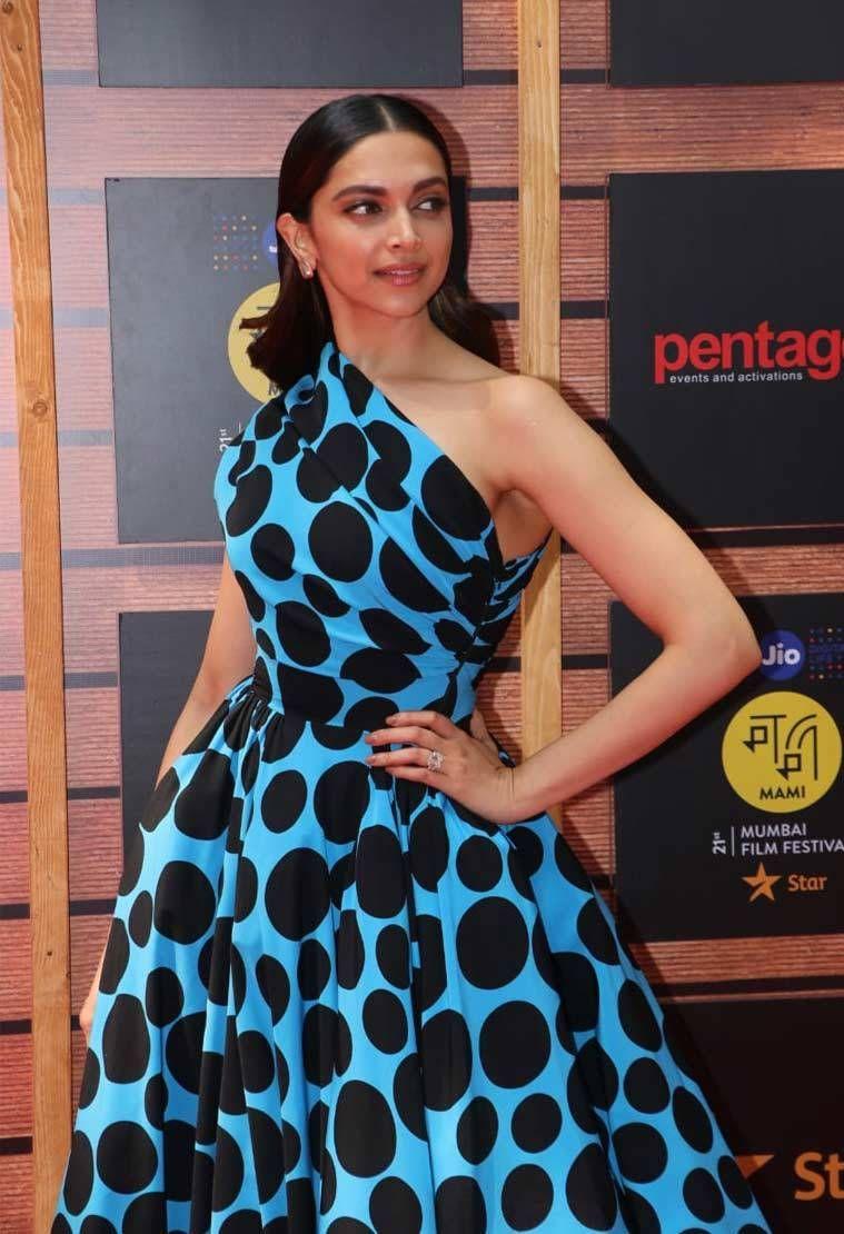 #DeepikaPadukone at Jio MAMI 20th Mumbai Film Festival ...