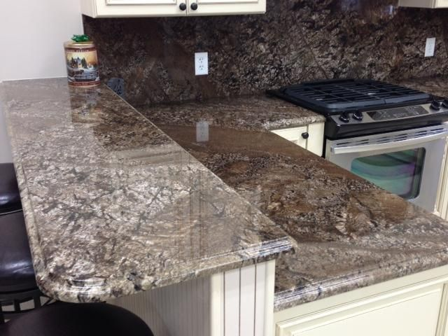 Feratto kitchen This natural stone is extracted from