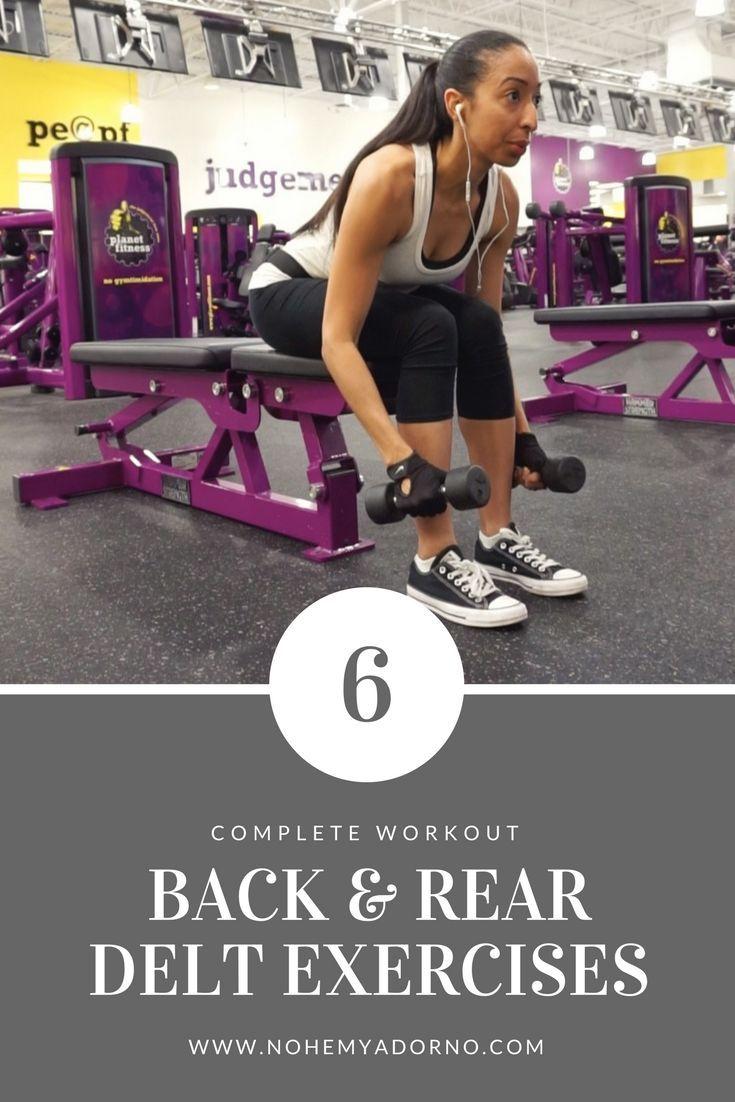 Back rear delt workout fitness workout plan