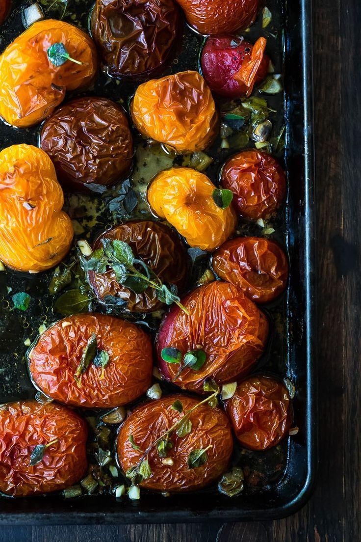 Oven Roasted Tomato Sauce Recipe Roasted tomato sauce