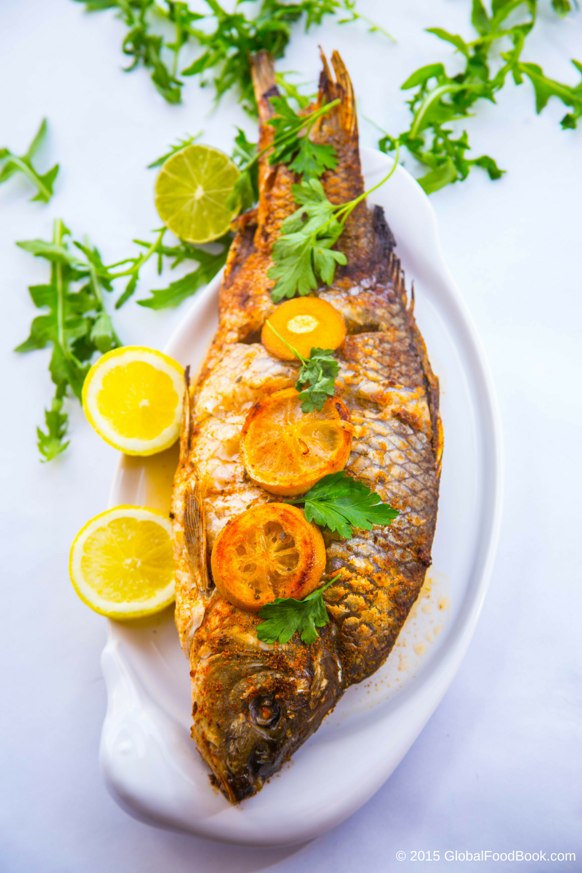 Spicy Grilled Croaker Fish Recipe Croaker Fish Recipe Fish Recipes Seafood Recipes