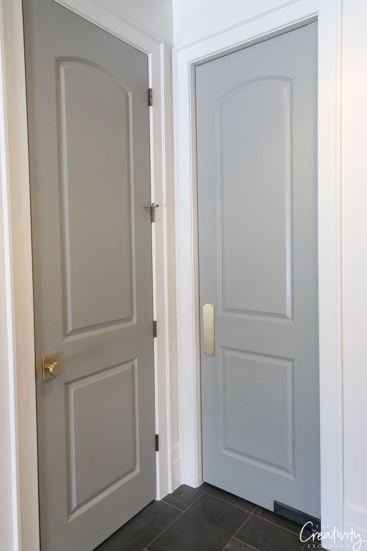 Beautiful European Contemporary Home Tour Interior Door Colors