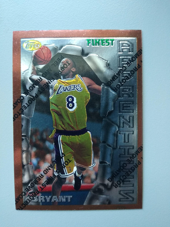 199697 topps finestbasketball kobe bryant rookie card los