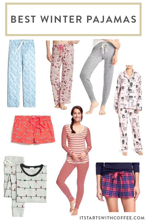 a0fd0aab43 Best Winter Pajamas - It Starts With Coffee - Blog by Neely Moldovan ...