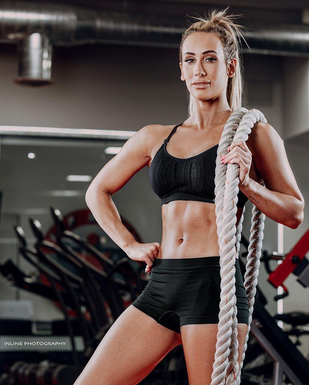 workout for female wrestler