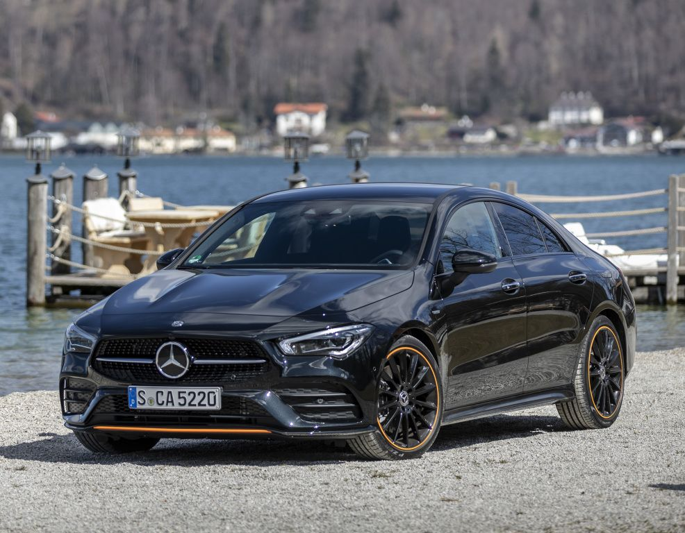 Mercedes Benz Cla 250 4matic Amg Line Edition Orange Art Br 118