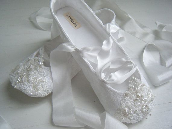 Bridal Ballet Flats White Fairytale Shoes Wedding Women S Bobka