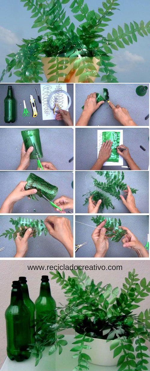Креативные поделки из пластиковых бутылок своими руками ...