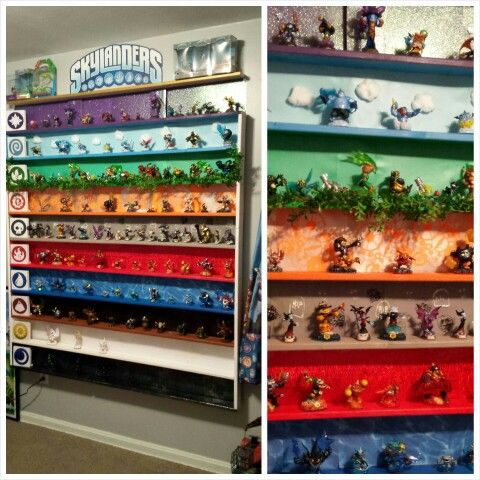 The Ultimate Skylanders Display Shelf!