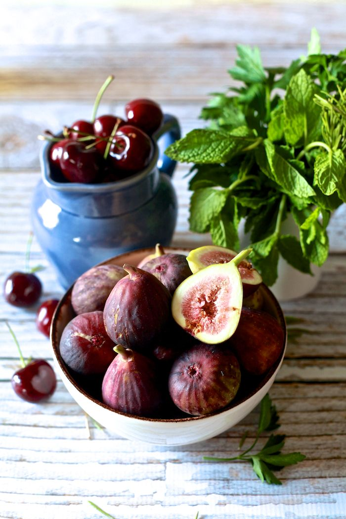 Cherries and figs