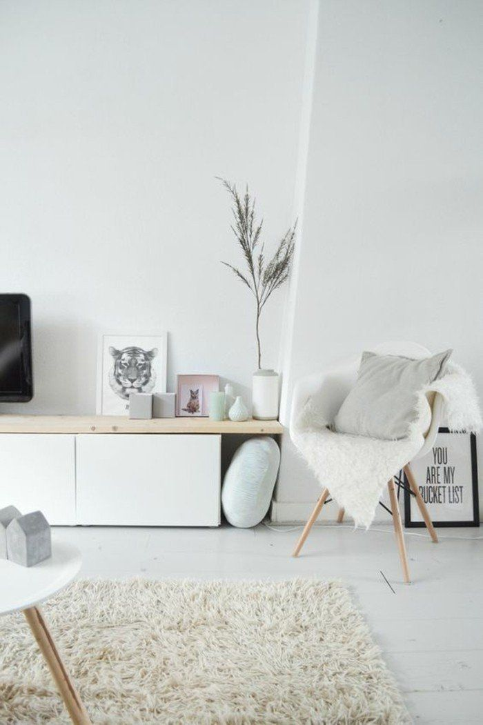 56 id es comment d corer son appartement voyez les for Meuble salon scandinave