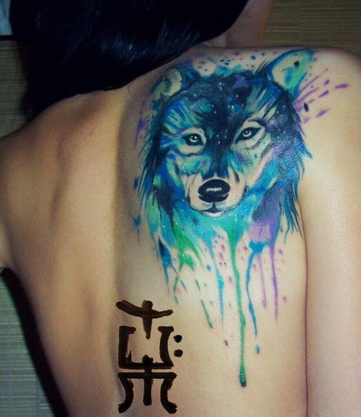 Pin De Yiyi Lu En Tatuajes Tribales Tattoos Wolf Tattoos Y