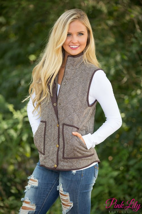 We've got another gorgeous addition to our collection of vests - it's sure to be another sellout, so grab it quickly!