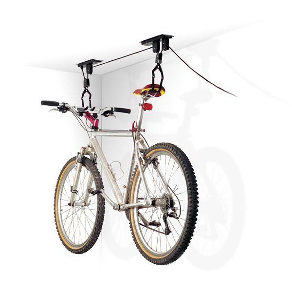 Ceiling Bike Storage Lift 20kg Bicycle Hang Mount Garage Basement Rack Hoist