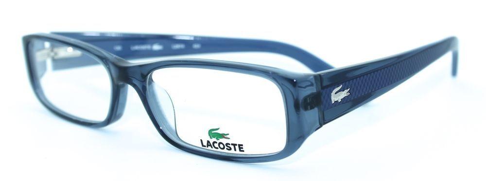 lacoste l2674 424 5316 new blue authentic women designer eyeglasses frame - Womens Designer Eyeglass Frames