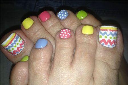Easter Toe Nail Art - Easter Toe Nail Art Toes Pinterest Toe Nail Art, Pedicure Nail