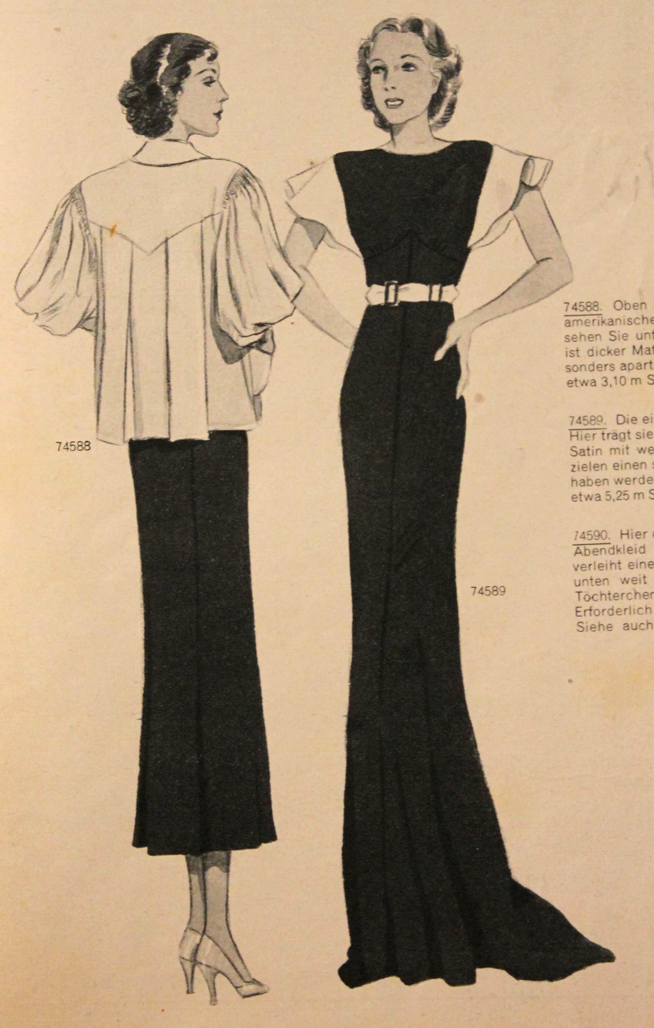 Pin by e c on costume pinterest 1930s fashion 1930s and 1930s sewing patterns jeuxipadfo Choice Image