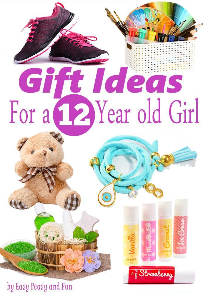 Best Gifts for a 12 Year Old Girl Easy peasy and Gift