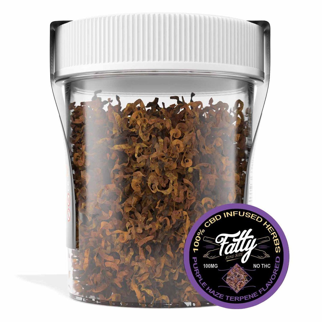 Purple Haze CBD Fatty Loose Herbs are a smokable mix of CBD