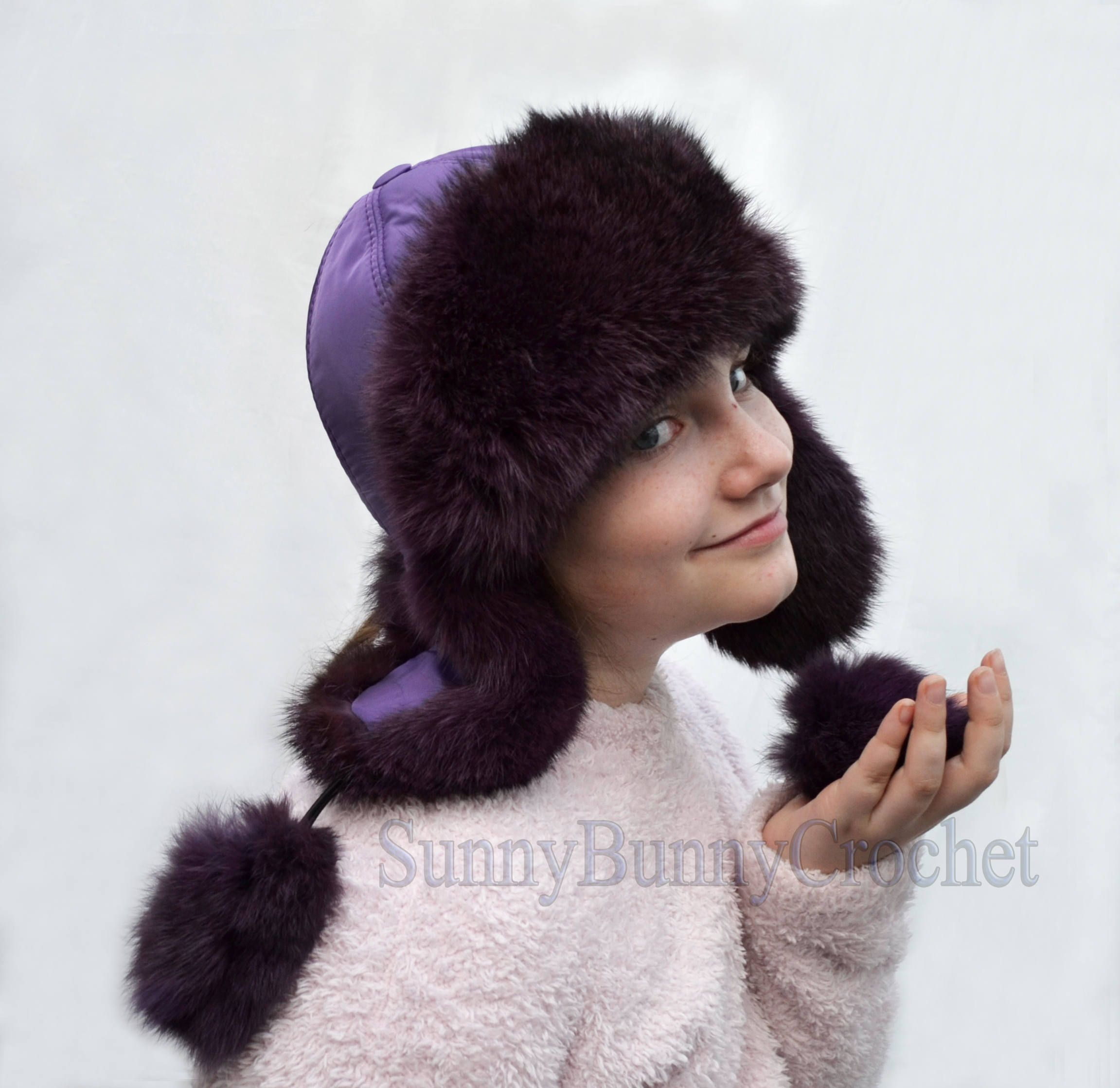 a4cb06acc004d Excited to share the latest addition to my #etsy shop: RABBIT FUR KIDS Hat