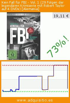 Kein Fall für FBI - Vol. 1 (29 Folgen der legendären Krimiserie mit Robert Taylor auf 4 DVDs) [Alemania] (DVD). Baja 73%! Precio actual 19,11 €, el precio anterior fue de 71,19 €. http://www.adquisitio.es/alive-vertrieb-und/kein-fall-f%C3%BCr-fbi-vol-1