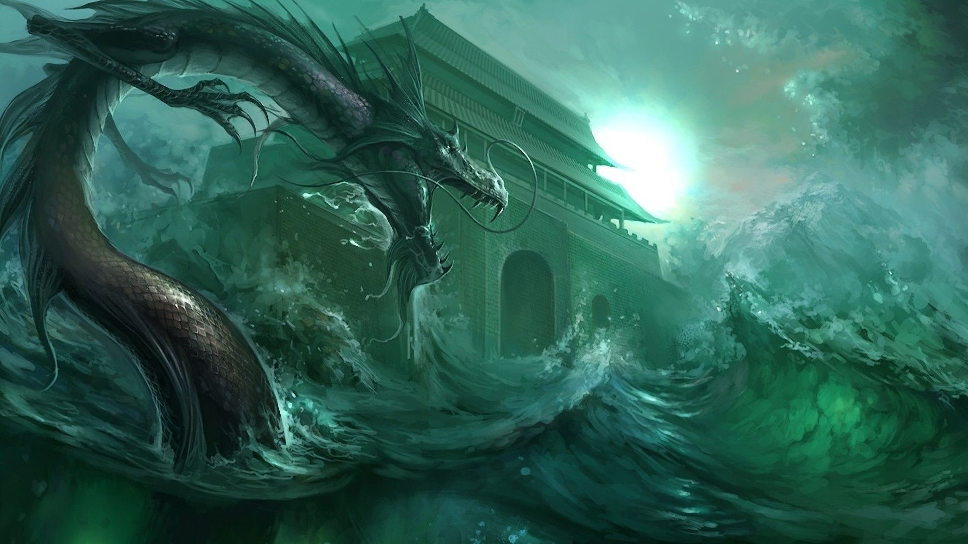 Sea Dragon Wallpaper Find Best Latest For Your PC Desktop Background