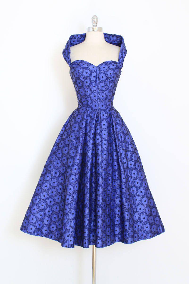 Vintage 50s Dress Purple 1950s Halter Dress Embroidered Etsy Vintage Dresses 50s Vintage 1950s Dresses Vintage Dresses [ 1200 x 801 Pixel ]