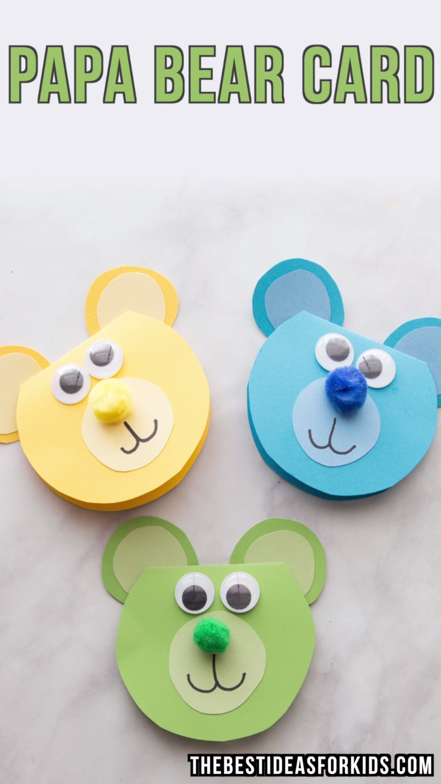 Bear craft cards pinterest crafts for kids crafts and fathers
