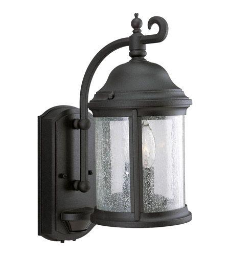 Progress Lighting Motion Sensor 2 Light Outdoor Wall Lantern in Textured Black P5854-31 #lightingnewyork #lny #lighting