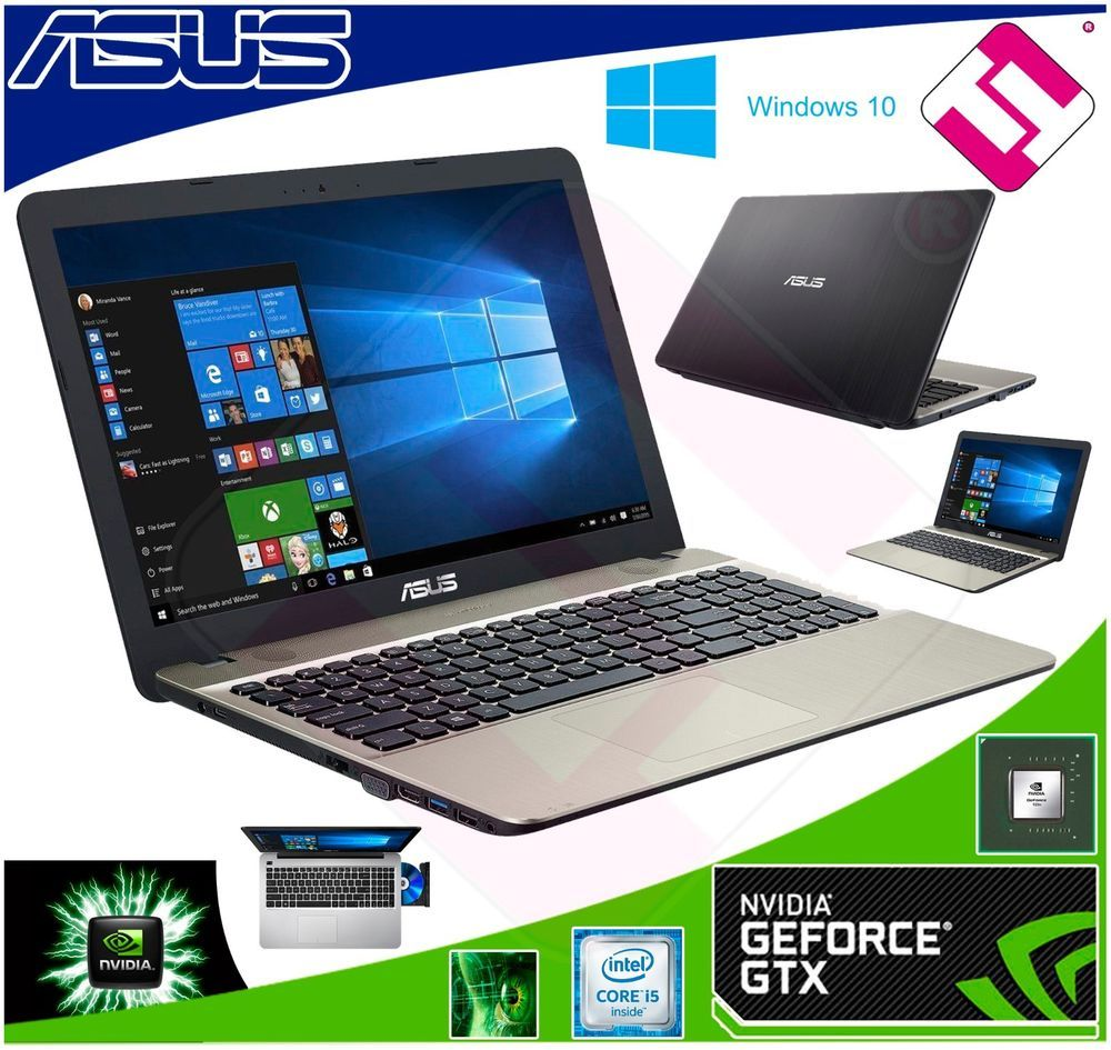 Portatil Asus X541uv Xx038t Core I5 6200u 8gb Ddr4 Nvidia 920mx